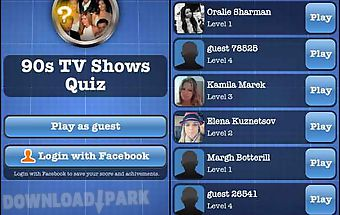 90s tv shows quiz free