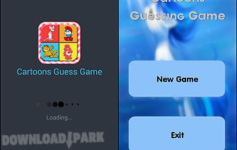 Cartoons guessing game
