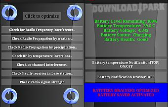Clean master ram booster signal ..