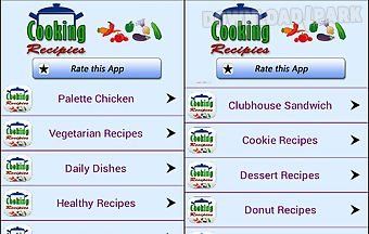Cooking recipes quick and easy