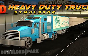 Heavy duty trucks simulator 3d