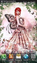 rose fairy live wallpaper