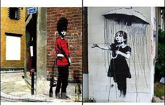 Street art gallery banksy xy