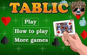 Tablic cards game