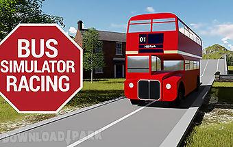 Bus simulator racing
