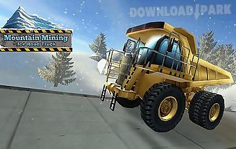 Mountain mining: ice road truck
