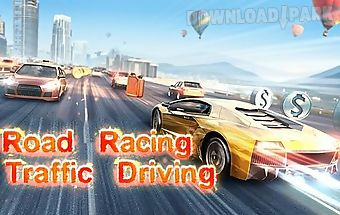 Road racing: traffic driving