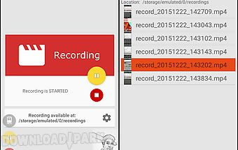 Recme free screen recorder hd
