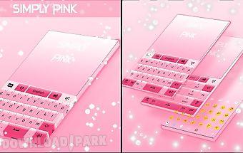 Simply pink keyboard