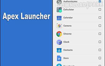 Apex launcher