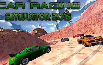 Car racing simulator 2015