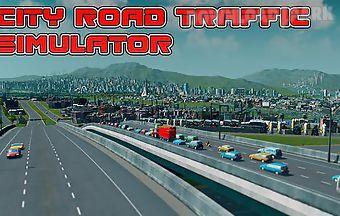 City road traffic simulator