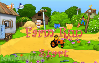 Farm run casual action game free