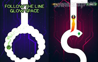Follow the line: glow space