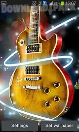 guitar by happy live wallpapers