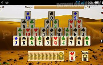 Piramidroid pyramid card game