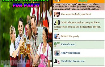 Ready for party tips ideas