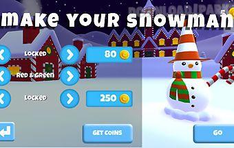 Save snowman