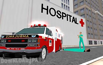 Ambulance simulator 2014 3d