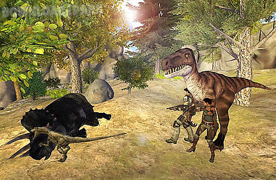 angry dinosaur raptor