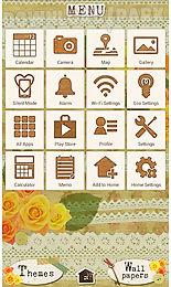 cute theme-orange love-