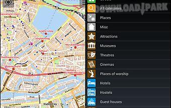 Hamburg offline city map