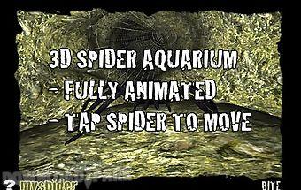 Spider aquarium in 3d