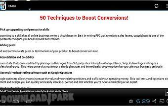 50 techniques to boost conversio..