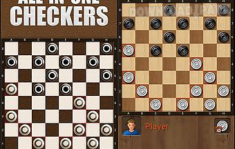All-in-one checkers