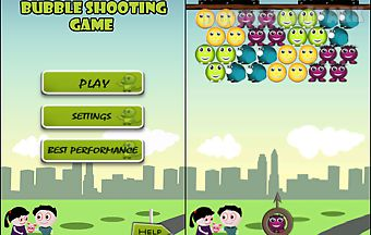 Bubbles shooting game