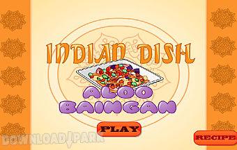 Indian dish aloo baingan