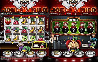 Joker wild slot machine hd