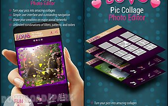 Love pic collage photo editor