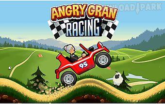 Angry gran - hill racing car