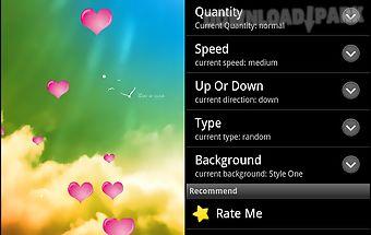 Heart live wallpaper pro