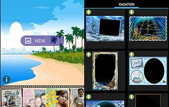 Vacation photoframes