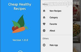 Cheap healthy recipes