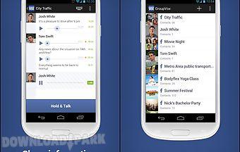 Groupvox - ptt for facebook