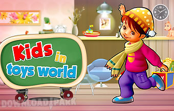Kids in toys world