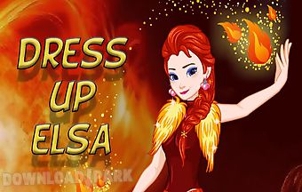 Makeover princes elsa fire