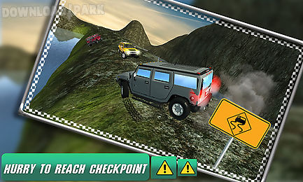 off-road jeep hill adventure