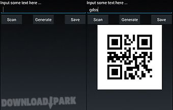 Qr code create and scan