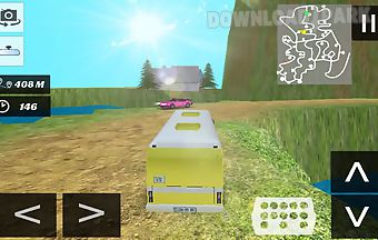 Real bus simulator off-road 3d