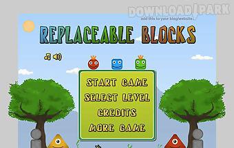Replaceable blocks1