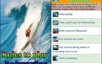 Rules to play bodysurfing