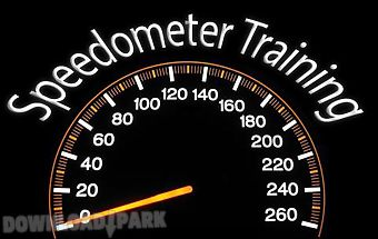 Speedometer training