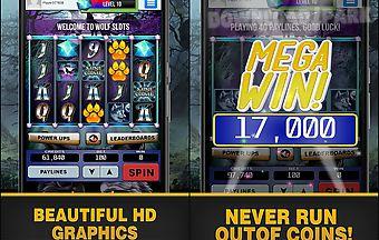 Wolf slots - slot machine
