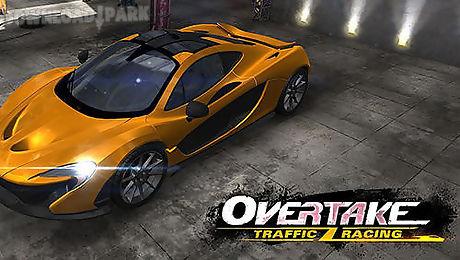 overtake: car traffic racing