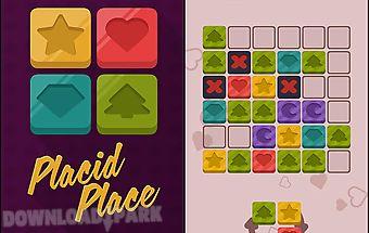 Placid place: color tiles