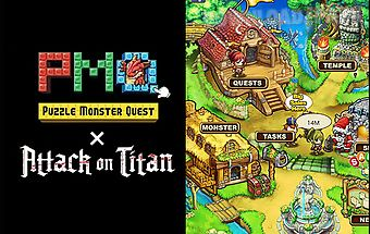 Puzzle monster quest: attack on ..